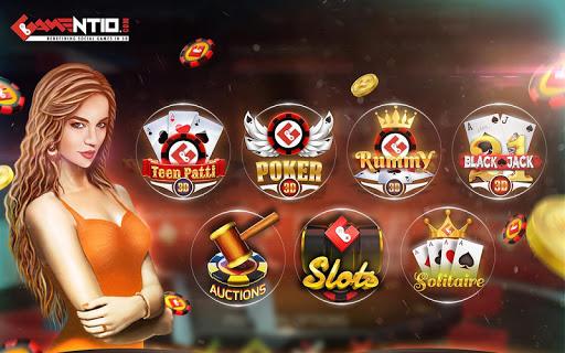 Gamentio 3D: Poker Teenpatti Rummy Slots +More  screenshots 17