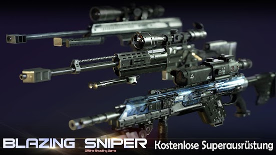 Blazing Sniper - offline shooting game Screenshot