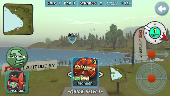 Disc Golf Valley 1.105 Screenshots 6