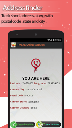 Live Mobile address tracker 1.9.45 screenshots 5