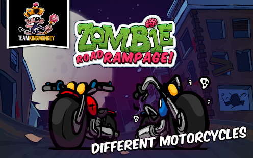 Zombie Road Rampage Screenshot
