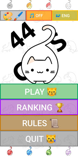 44 Cats - Math and Memory Apk  screenshots 1