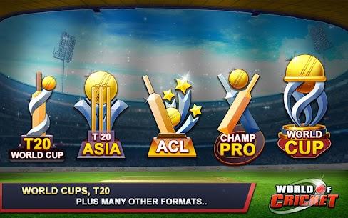 World Of Cricket Real 2021 APK Mod 3
