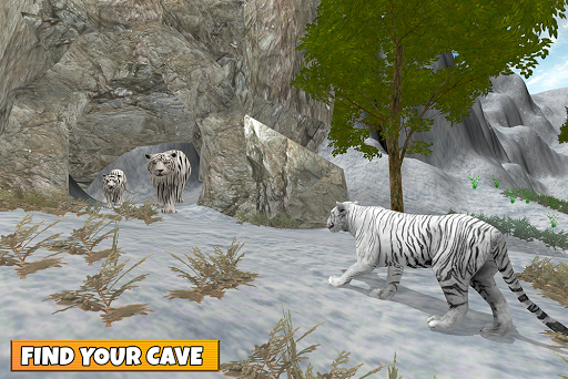 Snow Tiger Family apkmr screenshots 19