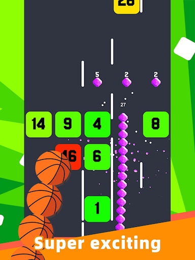 Slide And Crush - redesign snake game apktram screenshots 10