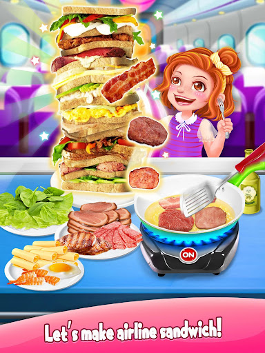 Airline  Food - The Best Airplane Flight Chef 1.5 screenshots 5