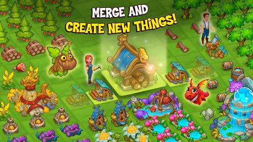 Merge World Above: Dragon games apkdebit screenshots 4