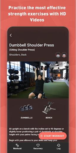 Fitbod Workout & Fitness Plans 2.0.3 Screenshots 4