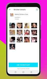 WAStickerApps Babies -Babies Stickers for Whatsapp