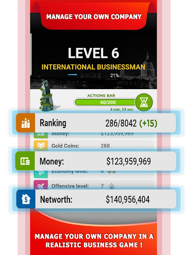 Tycoon Business Game u2013 Empire & Business Simulator 4.1 screenshots 1