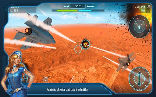 Battle of Warplanes: Aircraft combat, online game  screenshots 13