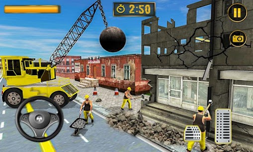 Wrecking Crane Simulator 2019: House Moving Game 1.5 Android Mod APK 2
