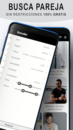 Adanel: chat gay para ligar y buscar citas gratis 2.2.7 Screenshots 2