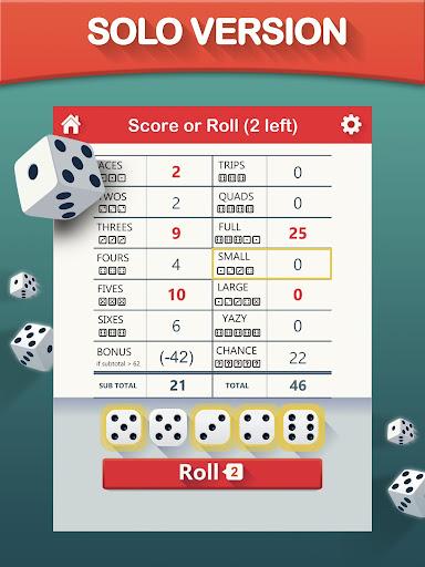 Yazy the best yatzy dice game 1.0.34 screenshots 6