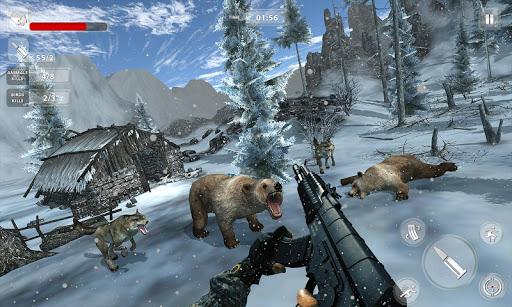 fps animal shooting - jungle wild animal simulator screenshot 3