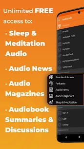 Free Audiobooks.com Listen to new audiobooks  podcasts 3