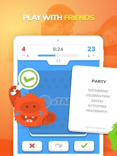 eTABU - Social Game - Party with taboo cards! Screenshot