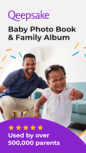 Qeepsake: Family Album, Baby Book, Memory Journal