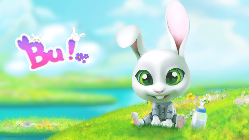 Bu the virtual Bunny - Cute pet care game 2.7 Screenshots 8