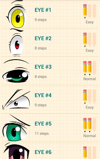 How to Draw Anime Eyes  screenshots 1