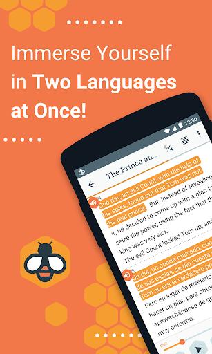 Beelinguapp: Learn Languages Music & Audiobooks modavailable screenshots 1