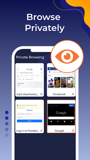 Browser Go - Fast & Secure, Web browser, News android2mod screenshots 4