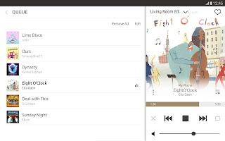 screenshot of Wireless Audio-Multiroom (Tab)