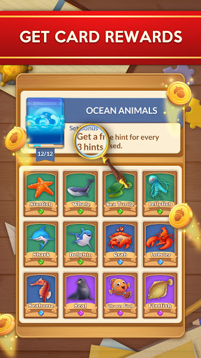 Word Card: Fun Collect Game apkpoly screenshots 5