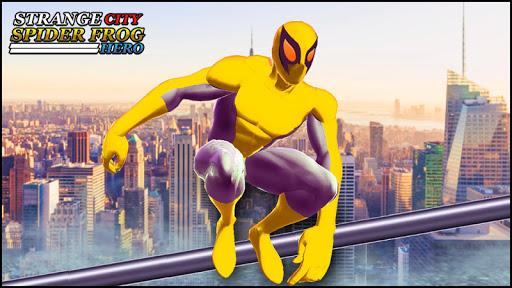 strange city spider frog rope hero: grand vice ops screenshot 1