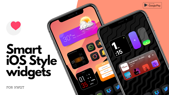 Smart iOS Style widgets (MOD, Paid) v6.1 5