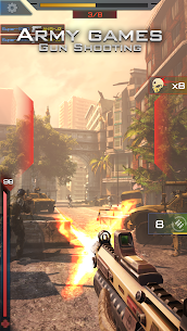 Army games: Gun Shooting Mod Apk (Dumb Enemy) 3