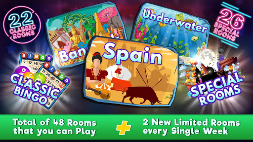 Free Bingo World - Free Bingo Games 1.4.11 screenshots 1