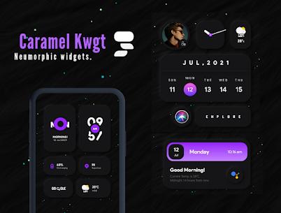 Caramel Kwgt Apk V5.3 [PAID] Download Latest 5