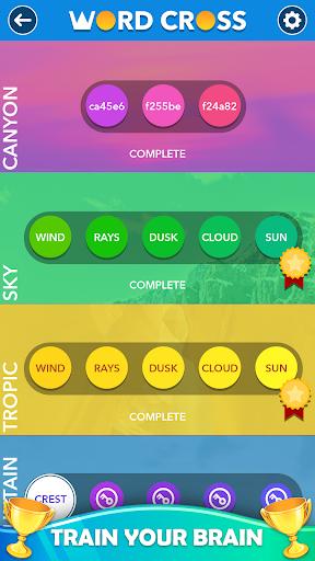Word Cross : Best Offline Word Games Free 2.6 Screenshots 4