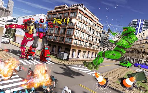 Tank Robot Car Game 2020 u2013 Robot Dinosaur Games 3d screenshots 6