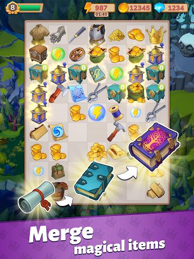 Merge Master u2013 Adventure Puzzle Apkfinish screenshots 15