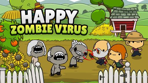 Happy Zombie Virus: Idle Merge Game 1.12 screenshots 1