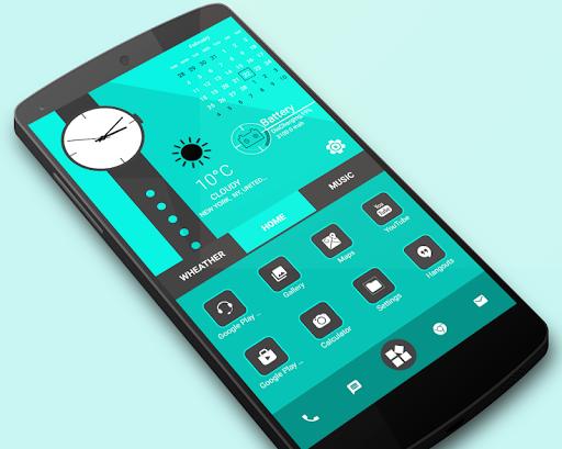 Home Launcher 2021 - App lock, Hide App  Screenshots 1