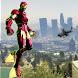 Robot Rope Hero - Firestorm Superhero Crime City