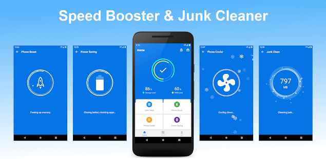 4 GB RAM Memory Booster - Cleaner | AppLock | Cool Screenshot