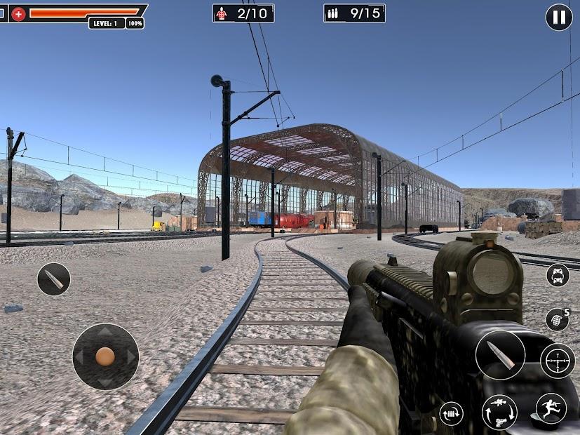 Screenshot 15 de Rangers Honor: Juegos Disparos juegos de pistolas para android