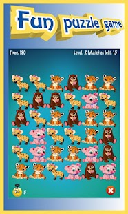 Animals Boom - Free Match 3 Puzzle Game Screenshot
