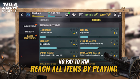 Zula Mobile: Gallipoli Season: Multiplayer FPS Mod Apk