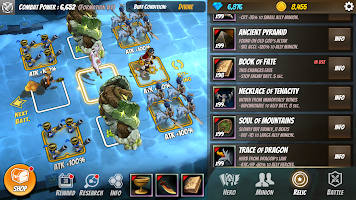 Legion Master - IDLE, RPG, Strategy, War game