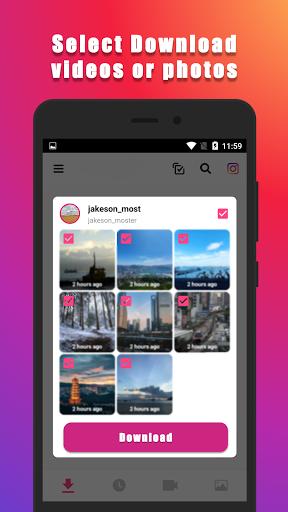 Video Downloader for Instagram (Super Fast)  Screenshots 1