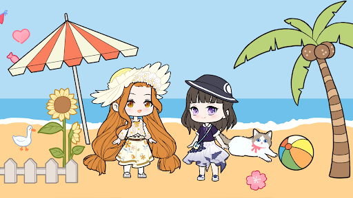 YOYO Doll - dress up games, avatar maker Apkfinish screenshots 7