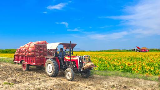 Real Cargo Tractor Trolley Farming Simulation Game  screenshots 12