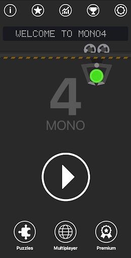 4 in a row - Mono4 Strategy Board game 1.4.10 screenshots 1
