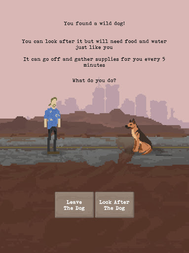 u2622 The Wanderer - Post-Apocalyptic RPG Survival  screenshots 17