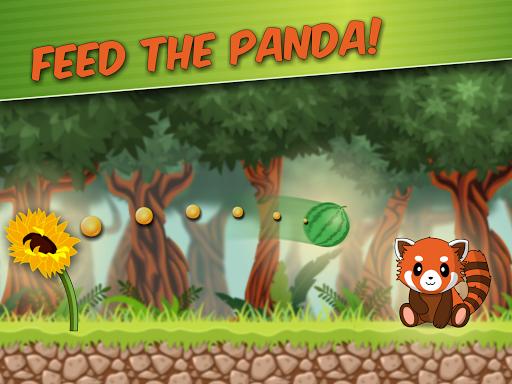 Red Panda: Casual Slingshot & Animal Logic Game  screenshots 6